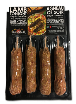 SunGold Lamb Kebabs in Packaging