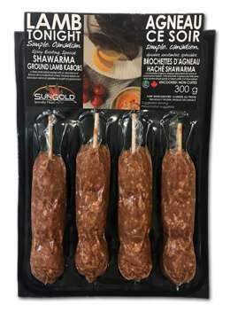 SunGold Lamb Shawarma in Packaging