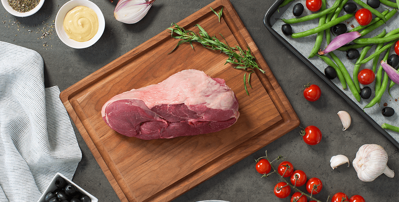 Leg of Lamb Dinner Ingredients