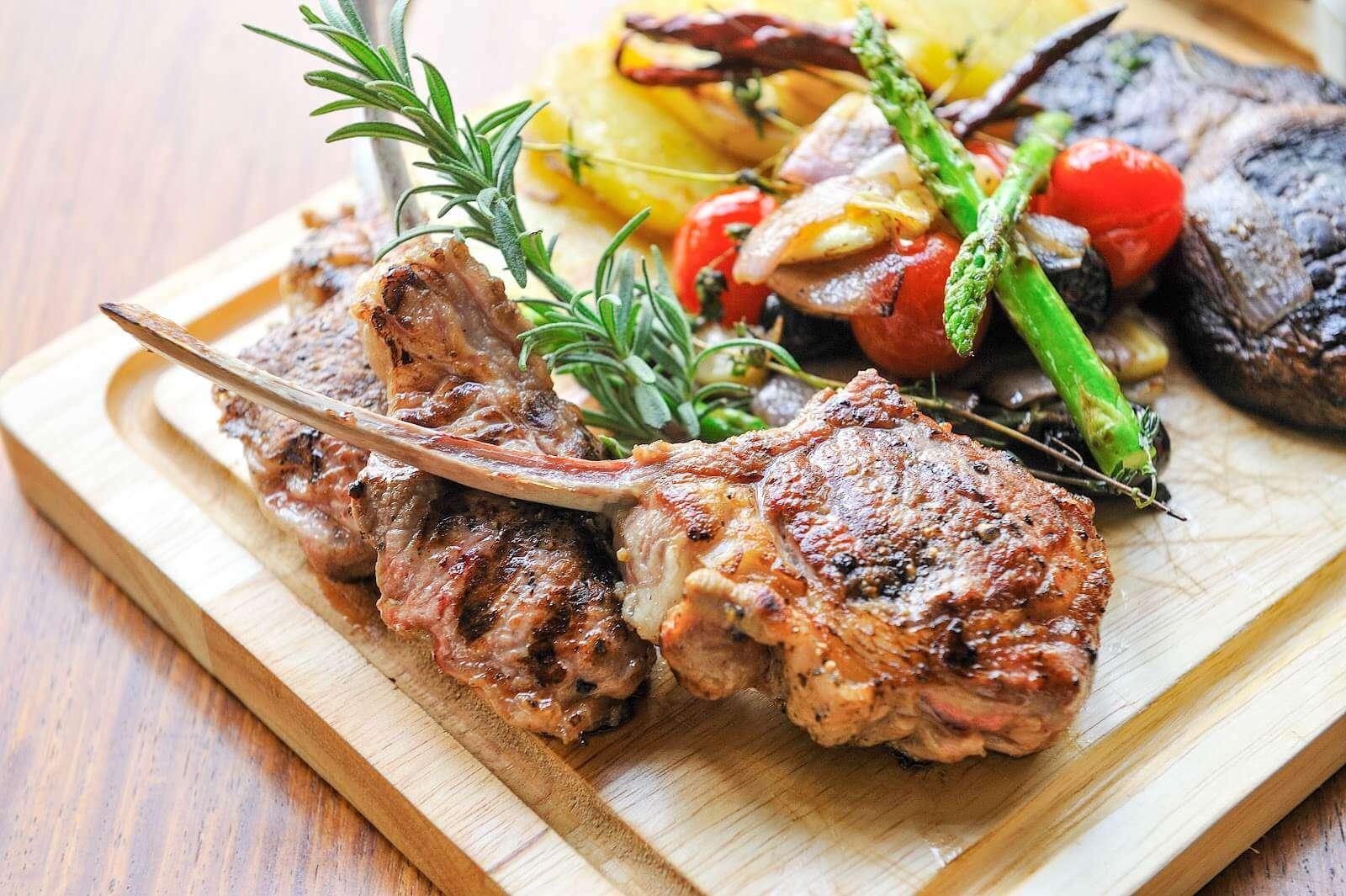 Paleo | Lamb Steak | SunGold