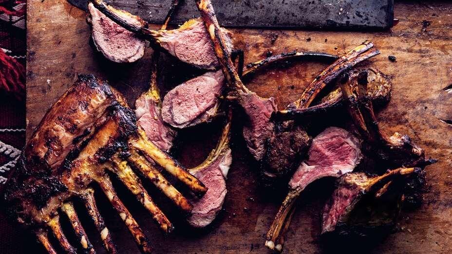 Grilled Safon Rack of Lamb