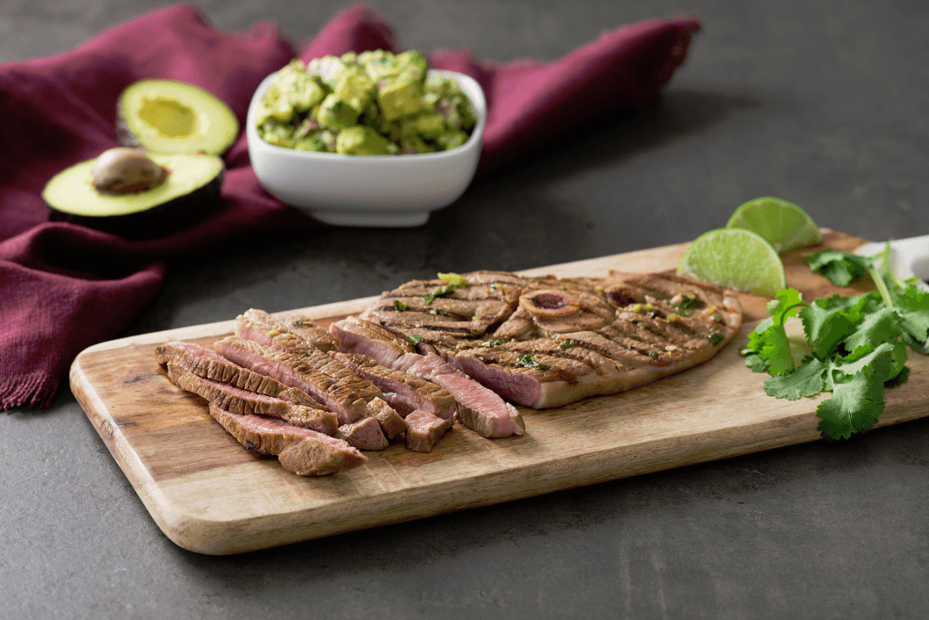 Grilled mojo steaks are a delicious, keto-friendly dinner idea.